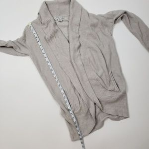 Barefoot Dreams Sweaters - SOLD Barefoot Dreams Light Grey Circle Cardigan